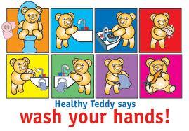 cuci tangan teddy